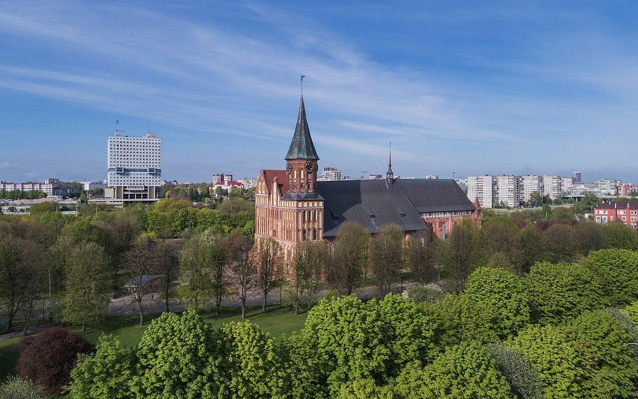 La cattedrale di Konigsberg dopo il restauro