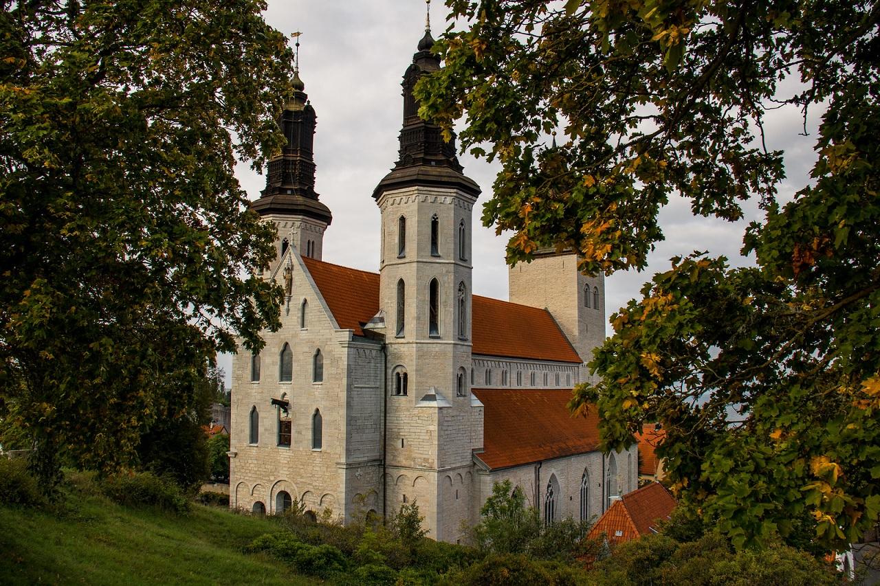 La cattedrale di Visby (Isola di Gotland)