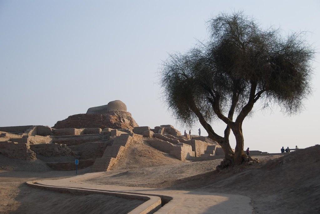 Il sito archeologico di Mohenjo-daro, nei pressi dell'Indo