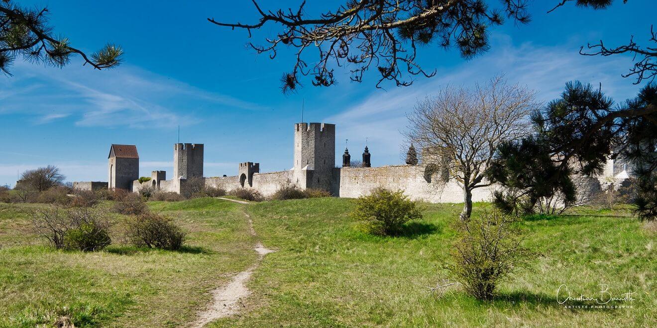 Porzione delle mura di Visby