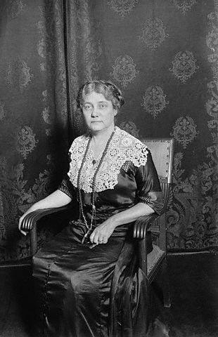 Elizabeth Cochrane Seaman (Nellie Bly) nel 1922