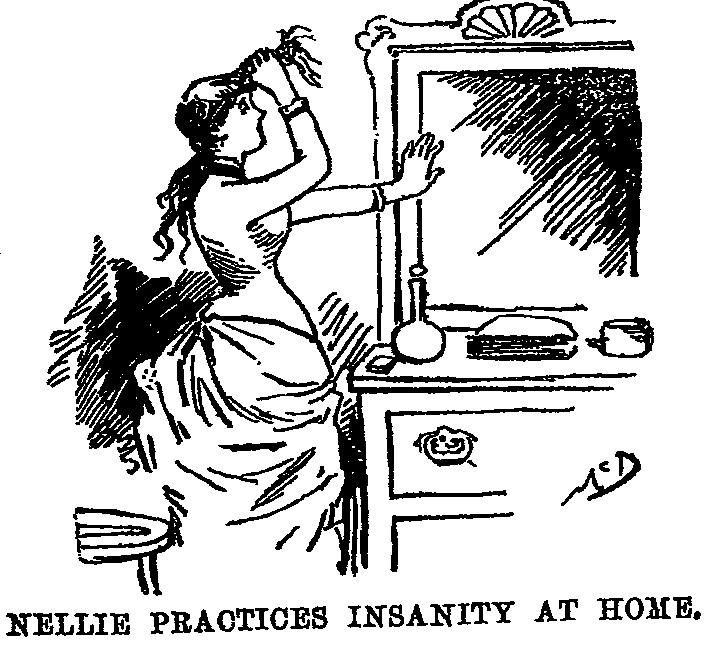 """Illustrazione contenuta nel libro """"Ten Days in a Mad-House"""""""