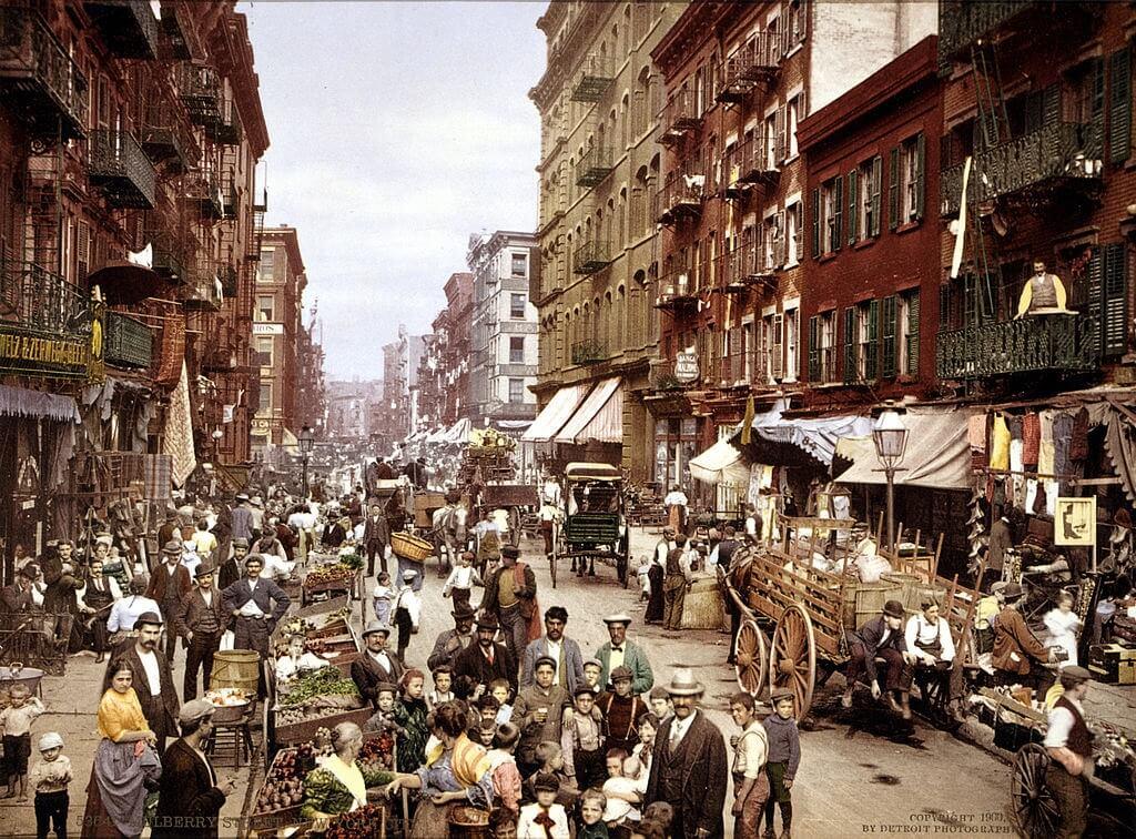 New York alla fine del XIX secolo