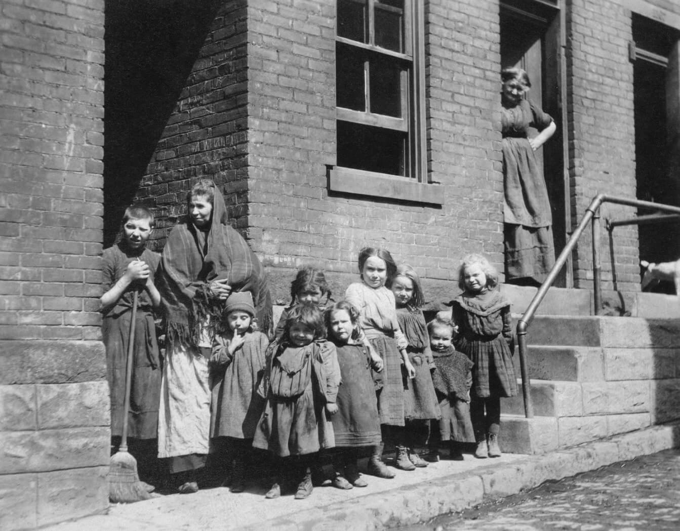 Il quartiere povero di Hill District, Pittsbugh (USA)