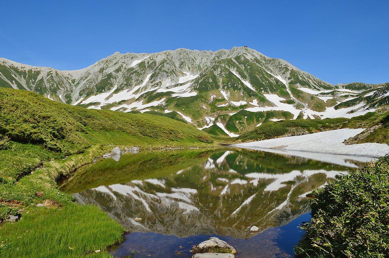 Il Tateyama, una delle tre Montagne Sacre del Giappone