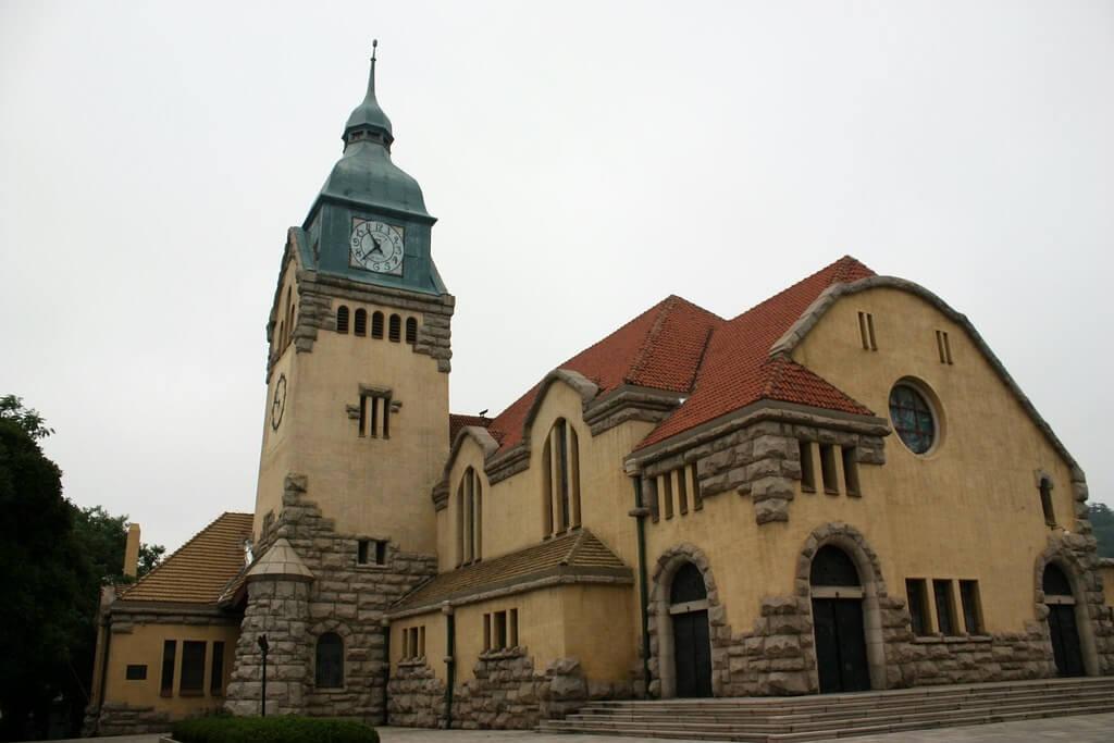 La chiesa protestante di Qingdao