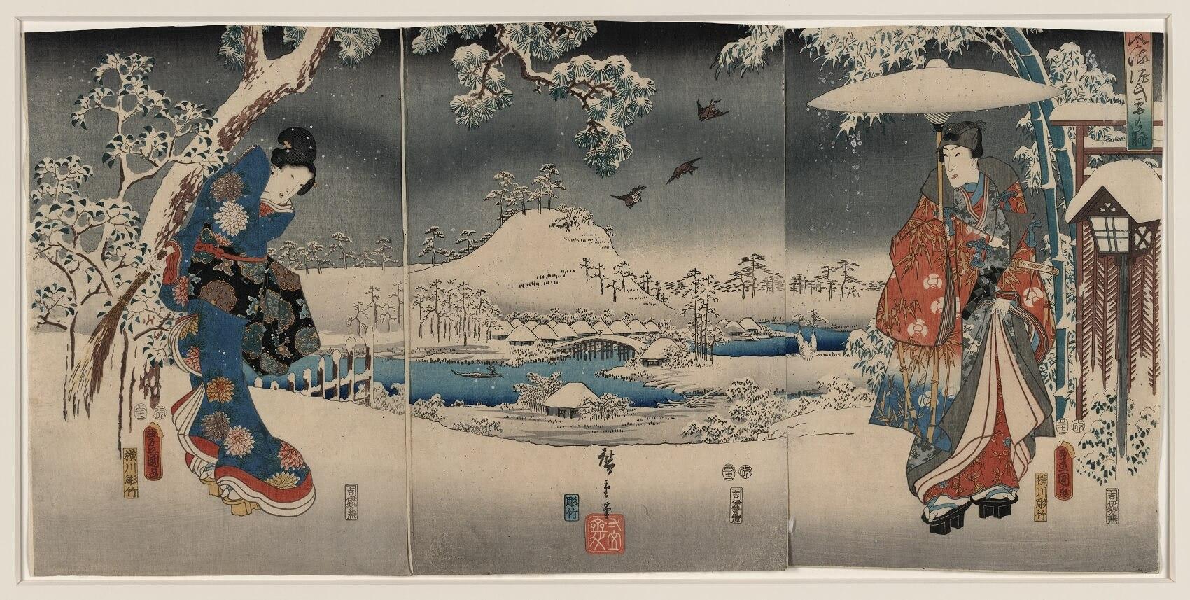 Leggende giapponesi sull'amore, storie romantiche dal Giappone