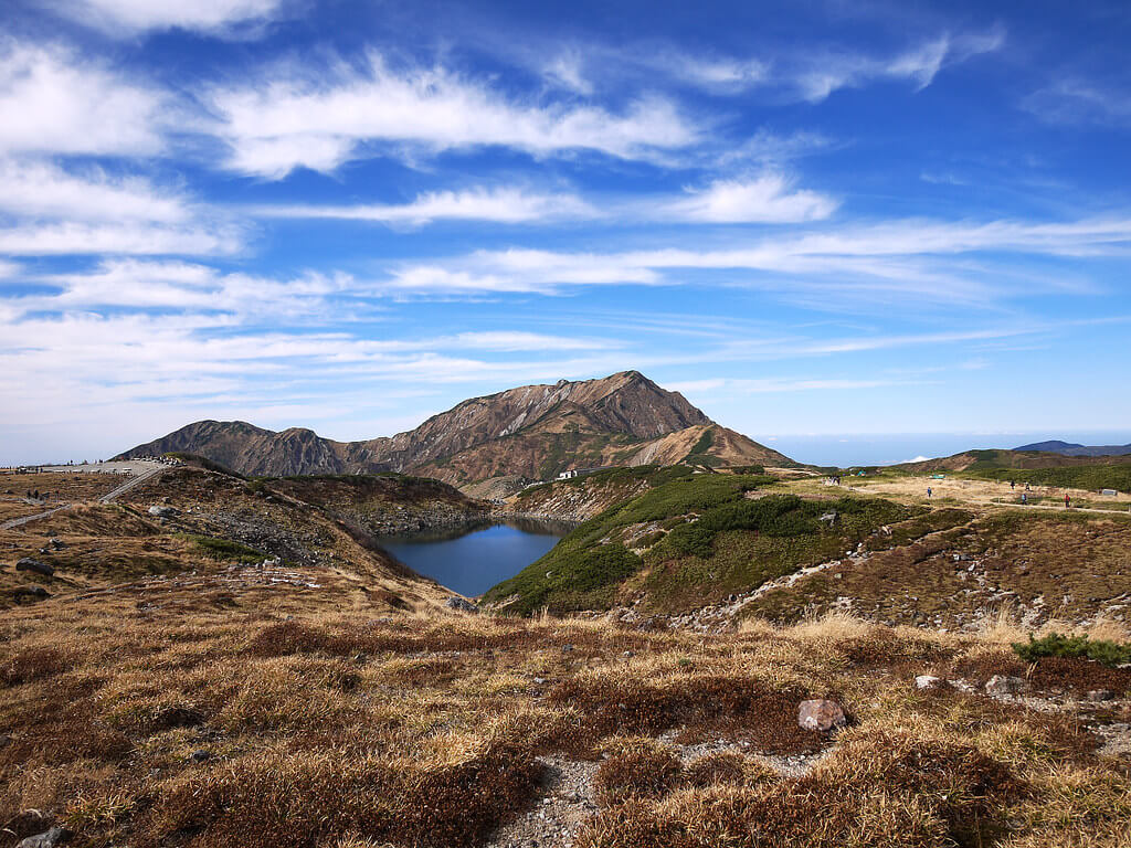 Mikuri Pond (Tateyama Kurobe Alpine Route)