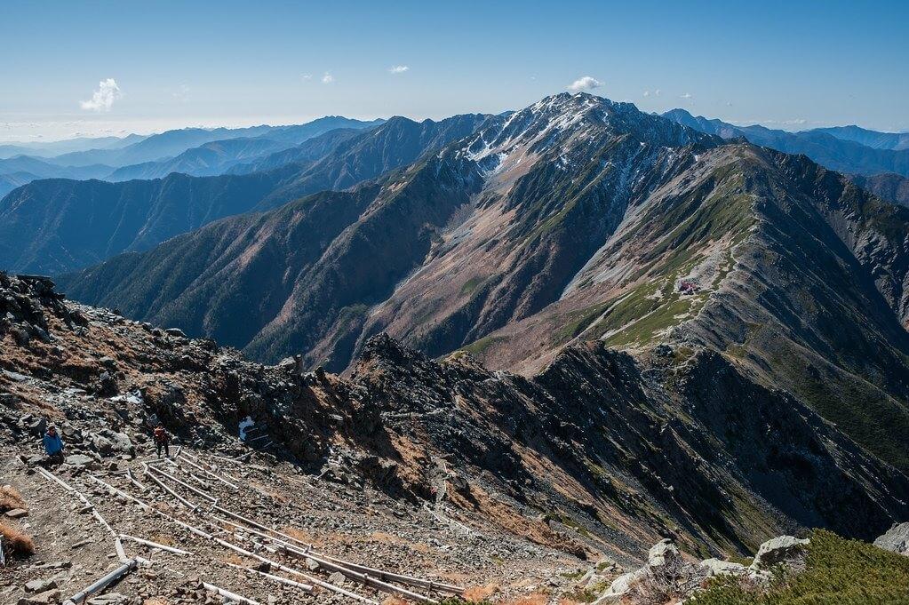 Monte Aino, Alpi giapponesi meridionali (monti Akaishi)
