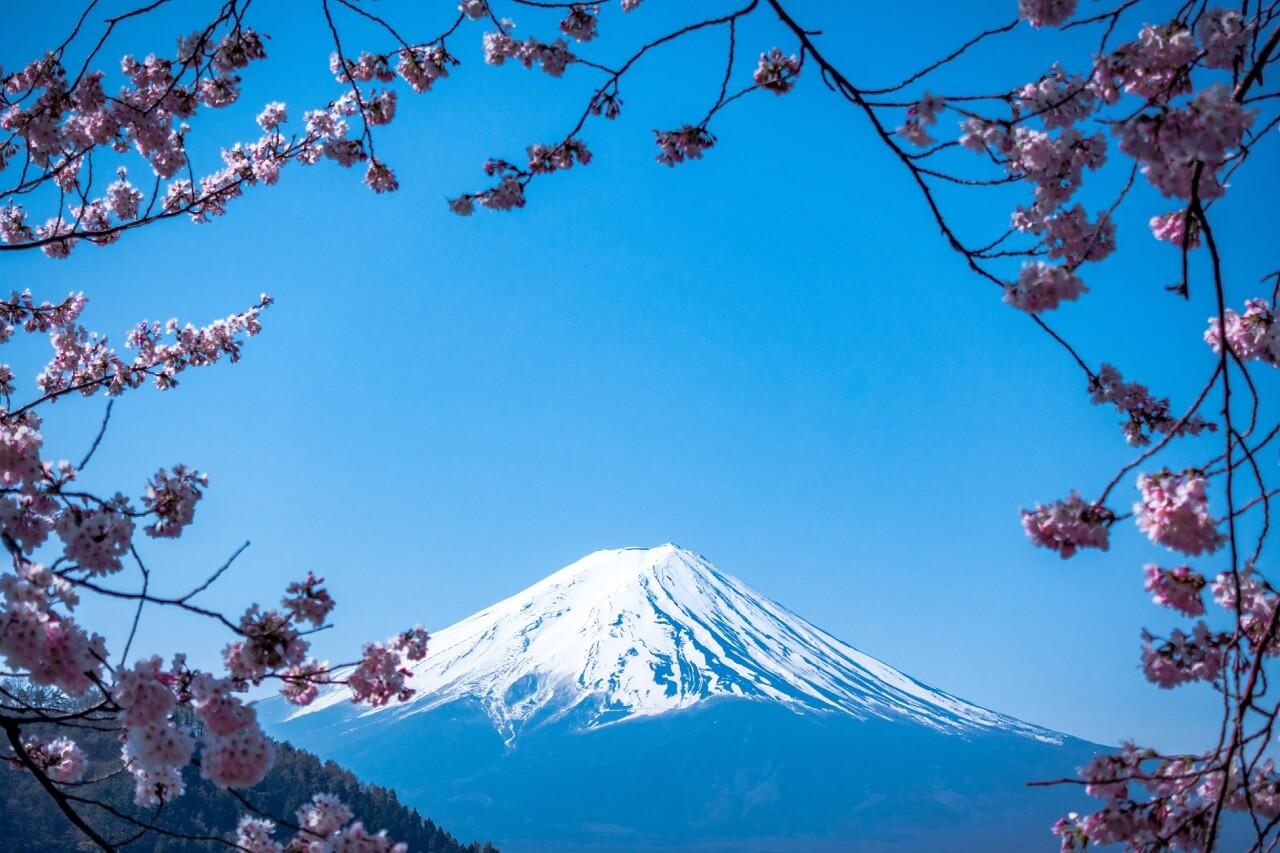 Il monte Fuji, una delle tre montagne sacre del Giappone