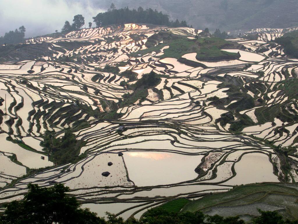 Le colline del Duoyishu, nello Yunnan (Cina)