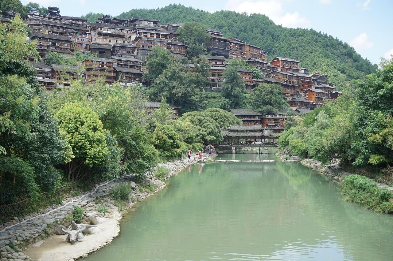 Xijiang, villaggio cinese di etnia Miao