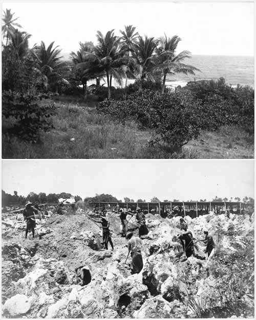 La sperduta isola di Banaba prima e dopo l'apertura delle miniere