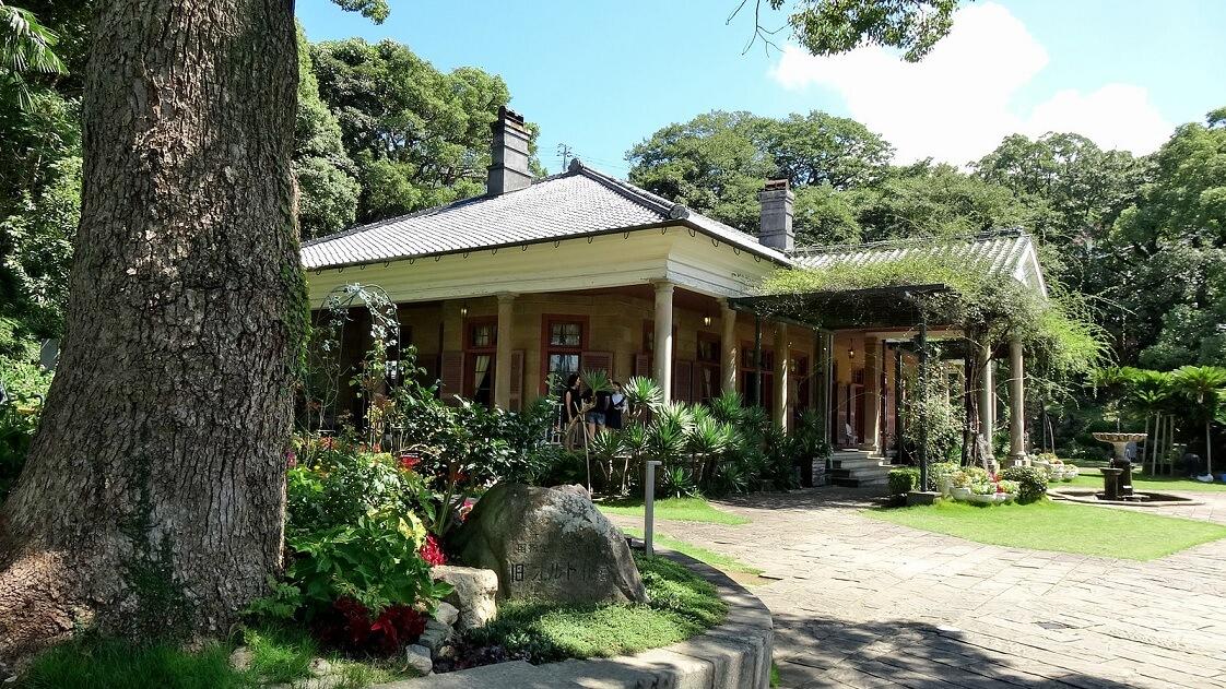 Una parte del parco di Glover Garden (Nagasaki), dove fu ospitato Sakamoto Ryōma
