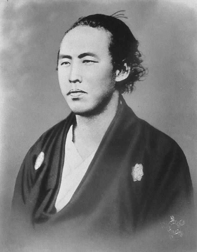 Sakamoto Ryōma, uno dei samurai più famosi e amati in Giappone