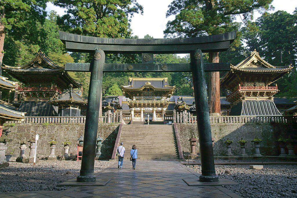 Santuario di Nikko, dove sono conservati i resti del famoso samurai Tokugawa Ieyasu