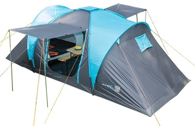 Skandika Hammerfest, tenda da campeggio 4 posti