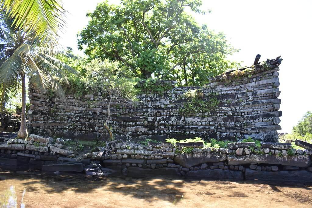Le rovine di Nan Madol, in Micronesia. Il sito è stato dichiarato patrimonio UNESCO