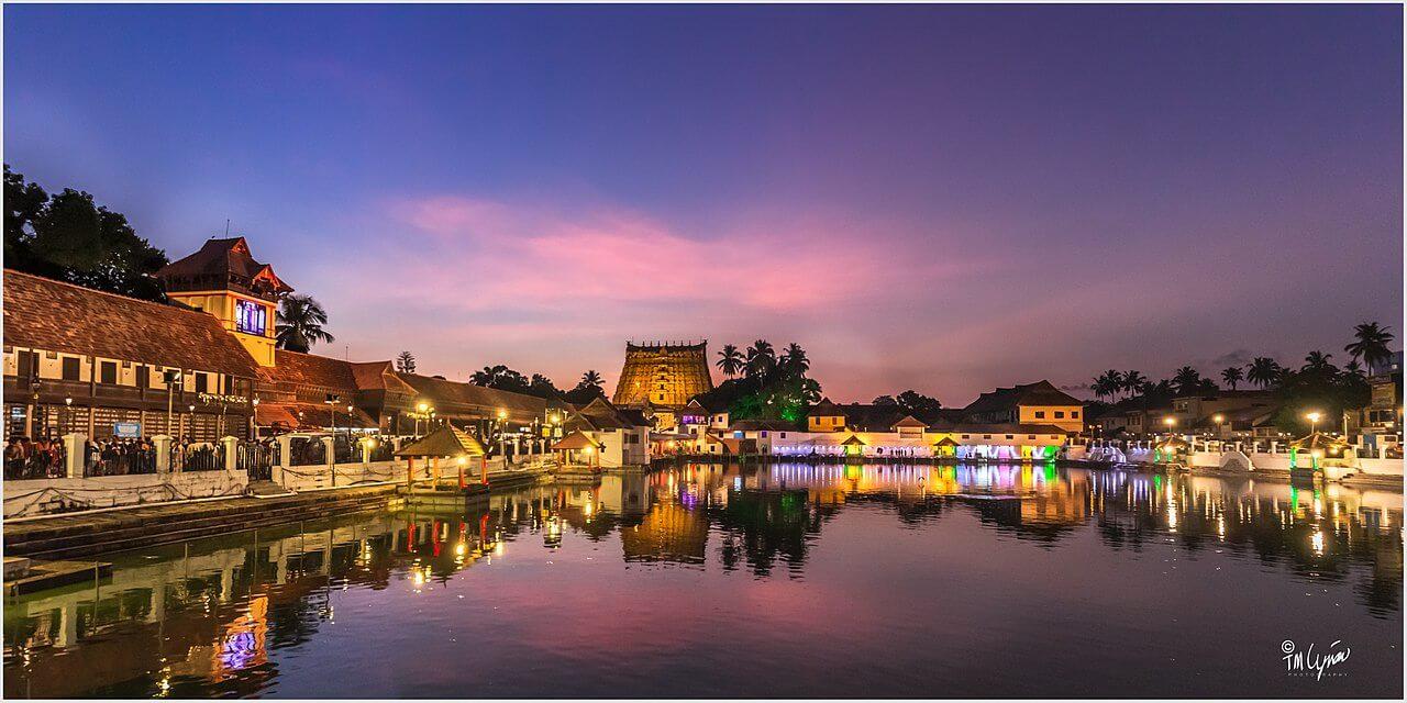 Il misterioso tempio di Padmanabhaswamy a Trivandrum, India