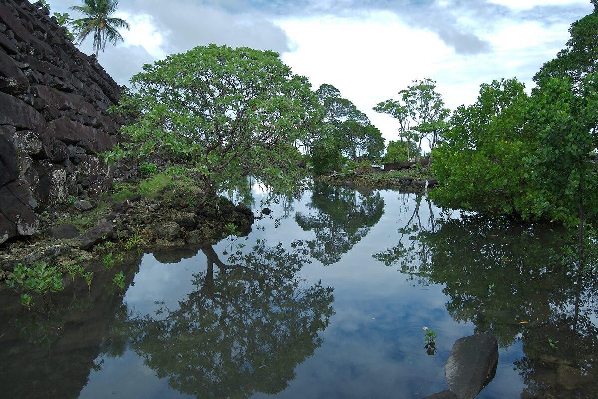 L'enigmagico sito archeologico di Nan Madol, in Micronesia