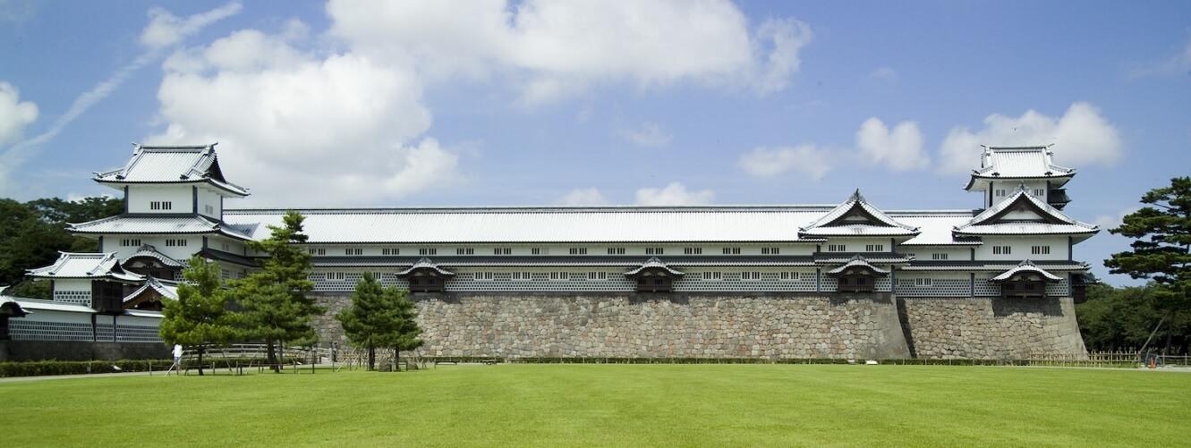 """Il castello di Kanazawa, detto """"palazzo dei mille tatami"""""""