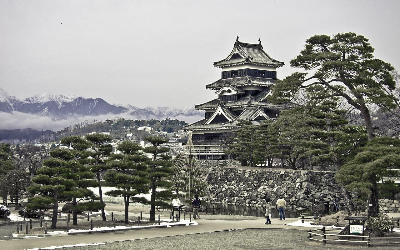 Il Matsumoto-jo, uno dei più bei castelli giapponesi
