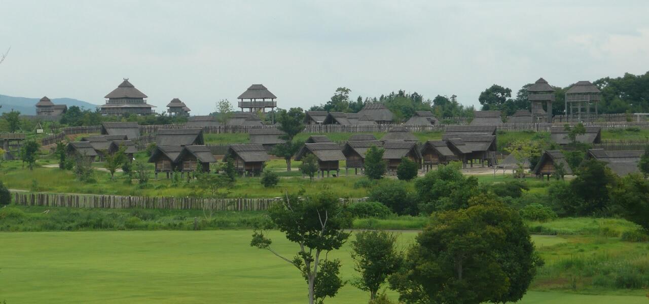 Il villaggio fortificato di Yoshinogari. Interessante da visitare per vedere le prime fasi evolutive del castello giapponese