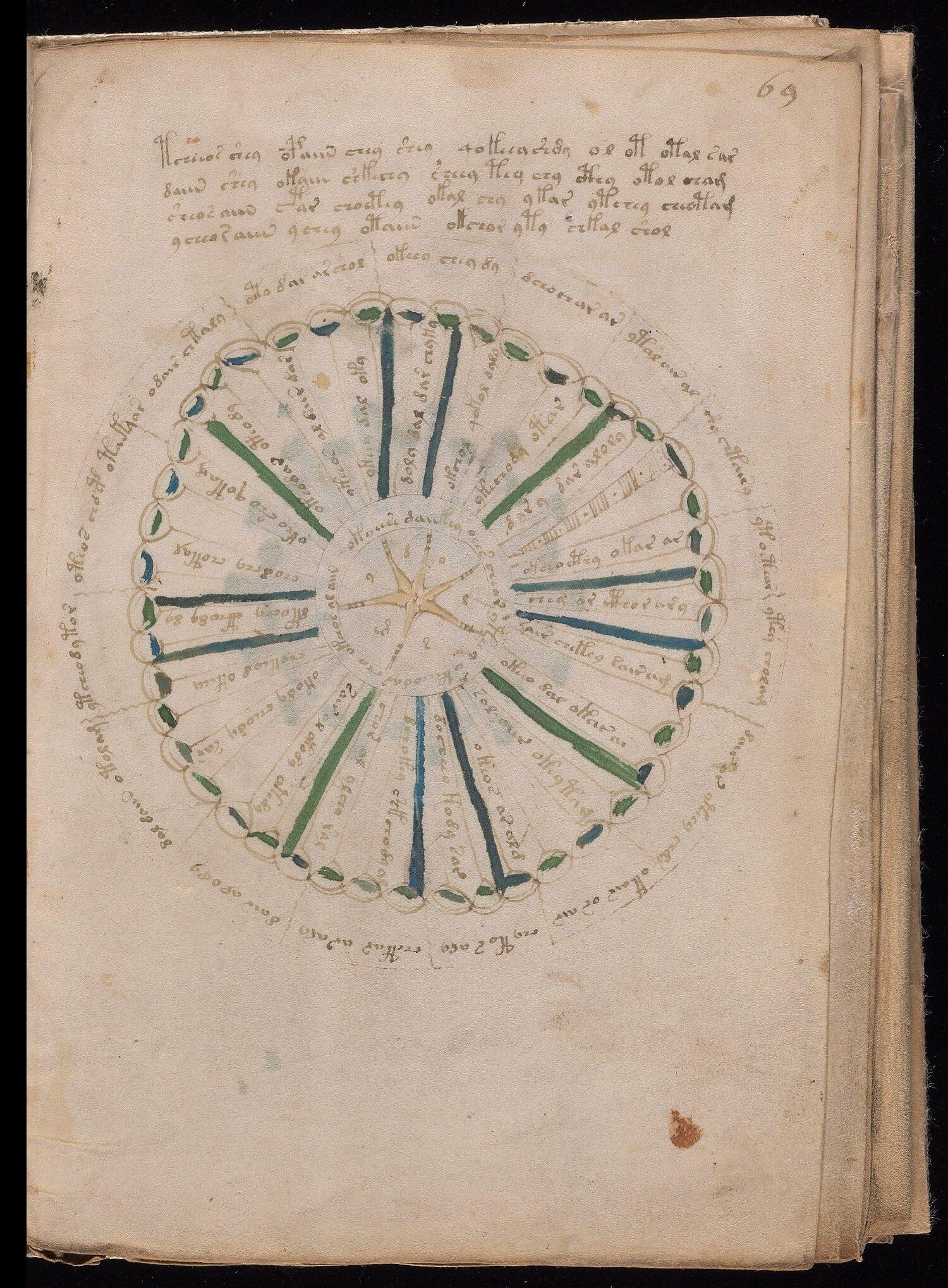 Foglio 69r, Yale University Library