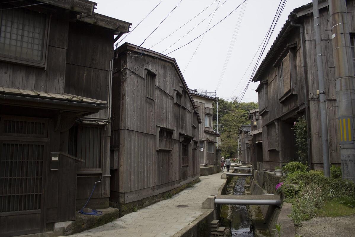 Il villaggio giapponese di Shukunegi, sull'isola di Sedo, ospitava una comunità di costruttori navali