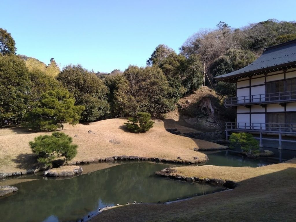 Il giardino del Kencho-ji, tempio Zen Rinzai di Kamakura