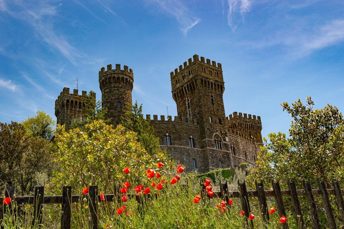 Il castello di Torre Alfina, nel comune di Acquapendente